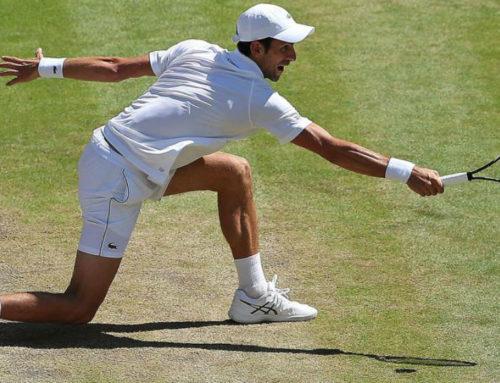 La cadera dominante y la fijación visual en el tenis.