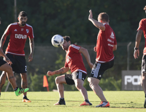 ¡Gafas estroboscópicas en el entrenamiento de River Plate!