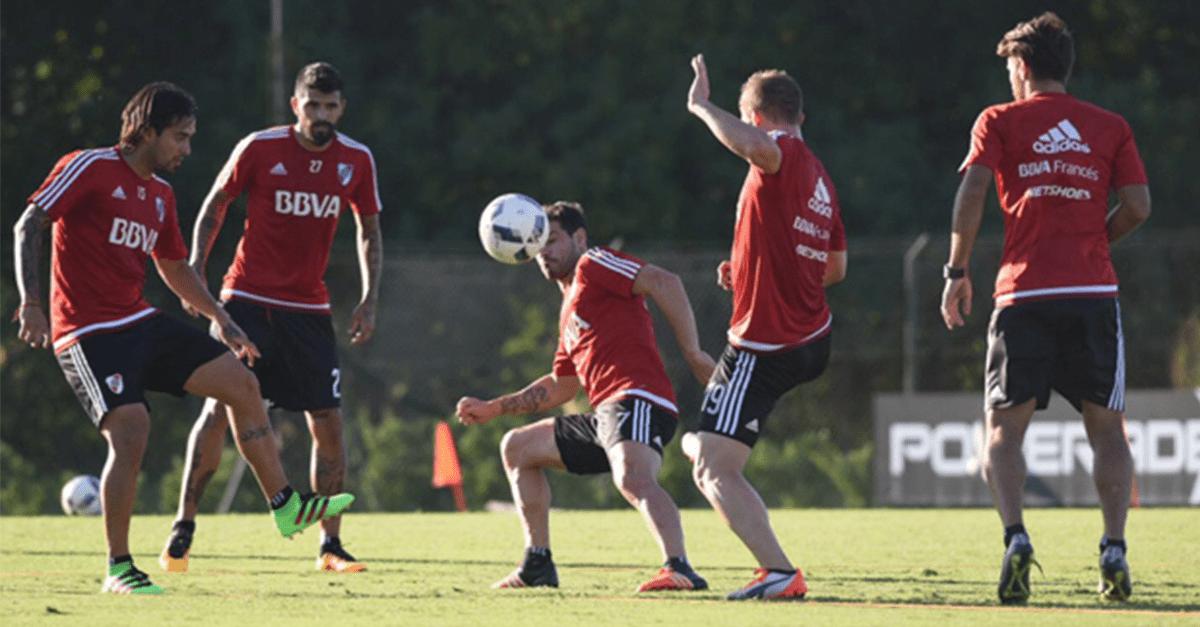 Las gafas estroboscópicas en el entrenamiento de River Plate
